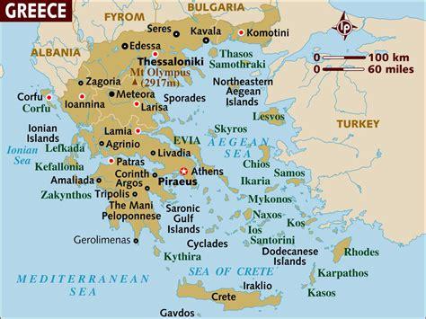 map  greece  basic map  greece   greek isles