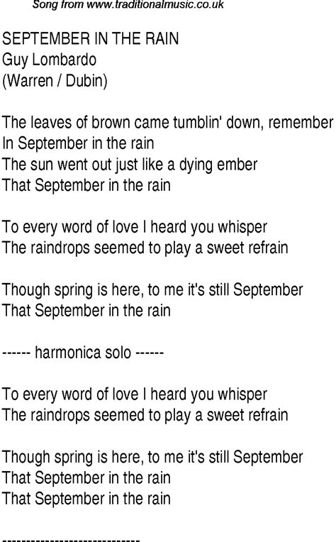 song to top songs 1937 charts lyrics for september in the