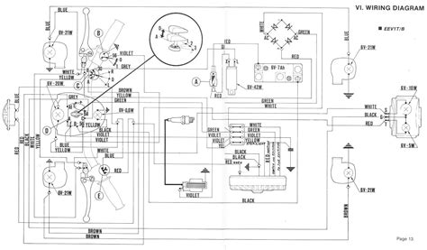 50cc piaggio fly 50 scooter wiring diagram moped wiring