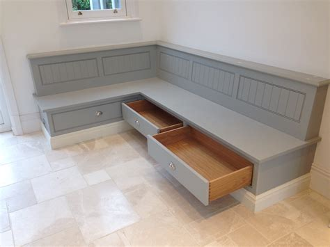 kitchen bench seat with storage tom howley bench seat with storage draws banquettes