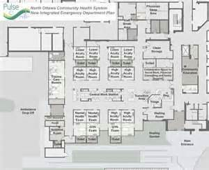 hospital emergency department floor plan lakeshore health system unveils plans for state of the art