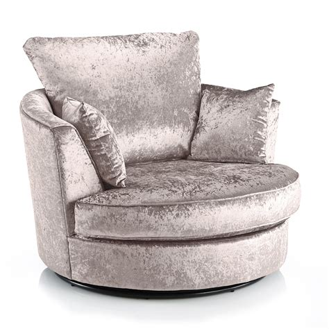 Crushed Velvet Furniture Sofas Beds Chairs Cushions Sofa Swivel Chair