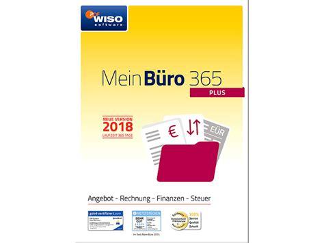 wiso mein büro 365 plus wiso software mein b 252 ro plus 365 2018 buchhaltung pc