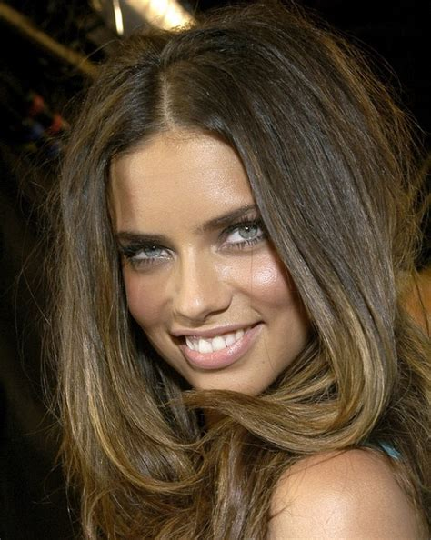 adriana lima cool short hairstyles for women sexy long straight hairstyle for thick hair adriana lima