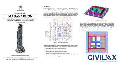 design concept report structural concept design report of tall building civil