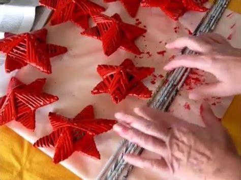 angelitos con periodoco estrellas navide 241 as con tubos de papel de peri 243 dico c 243 mo
