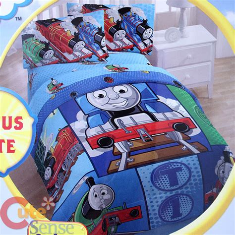 thomas the train twin bed set thomas tank engine friends 4pc twin single bedding