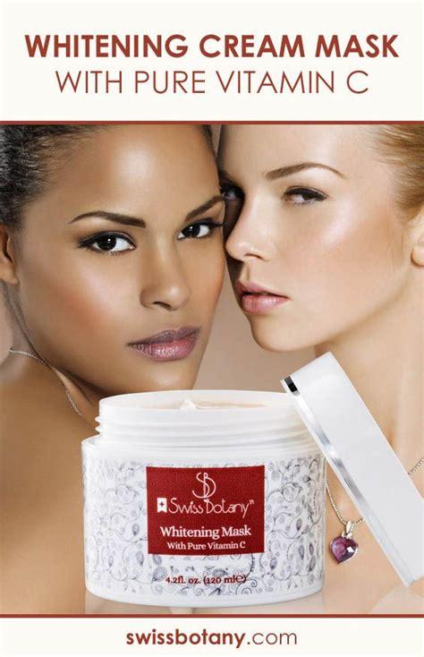 Skin Brightening And Anti whitening vitamin c skin lightening mask