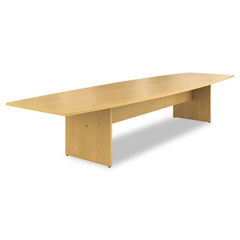 Hon Conference Table Hon 174 Preside Boat Shaped Conference Table Top 168 X 48 Harvest Hont16848pnc Ibuyofficesupply