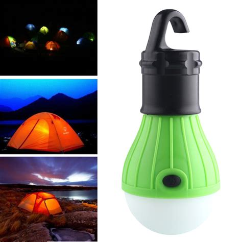 free led light bulbs hanging outdoors cing tent led light free