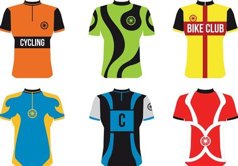 jersey design free vector bike sport jersey vectors download free vector art