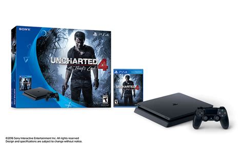 ps4 console bundle deals newegg 500gb playstation 4 slim uncharted 4 console