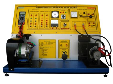 electric motor test bench electrical electronic systems technician training