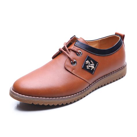 2016 new business casual shoes leather shoes for