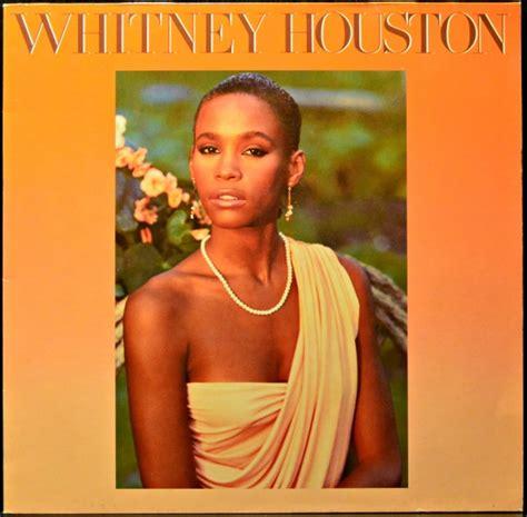 whitney houston whitney houston   lp album black