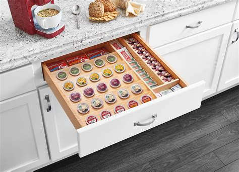 Kcup Drawer by K Cup Tray Insert For 24 Quot Base Cabinet Drawers 4cdi 24