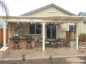Patio Overhang Designs by Natural Wooden Patio Covers Homesfeed
