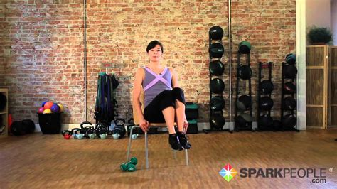 seated abs workout chair exercises   core youtube