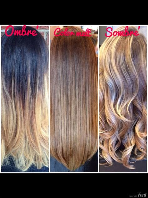 what is a sombre hair ombre sombre and colormelt how do they differ news modern