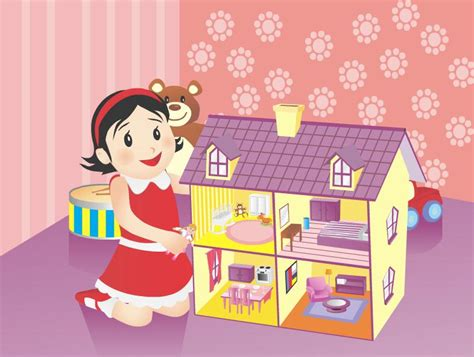 girl games doll house ragdoll girl game