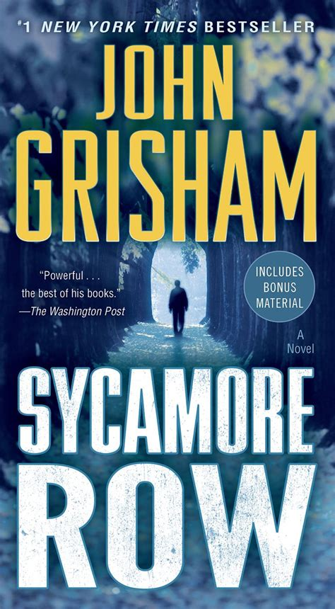 sycamore a novel books grisham bibliography
