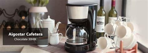 aigostar chocolate 30hik m 225 quina de caf 233 reutilizable y funci 243 n de mantener ebay