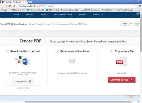 pdf converter create pdf make pdf edit pdf files convert