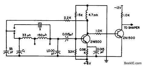 transistor hp m1132 capacitor value for oscillator 28 images ujt relaxation oscillator sweep circuit with ujt