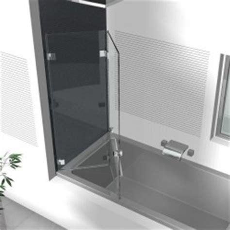 badewannen duschwand glas duschwand badewanne badewannenaufs 228 tze aus glas glasduschen