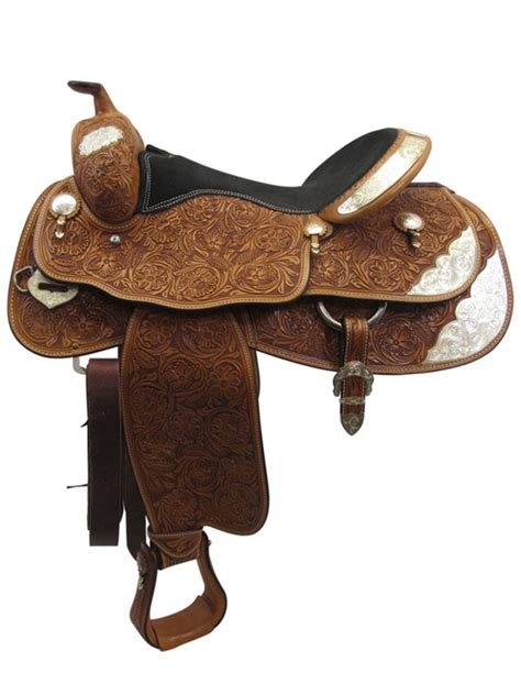 17inch used billy cook greenville wide show saddle floor