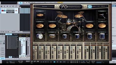 addictive drums studio one how to record addictive drum in studio one bahasa