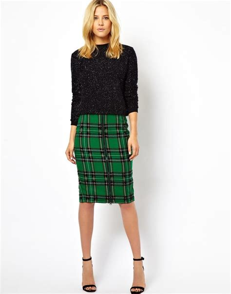 best 25 green plaid skirt ideas on plaid