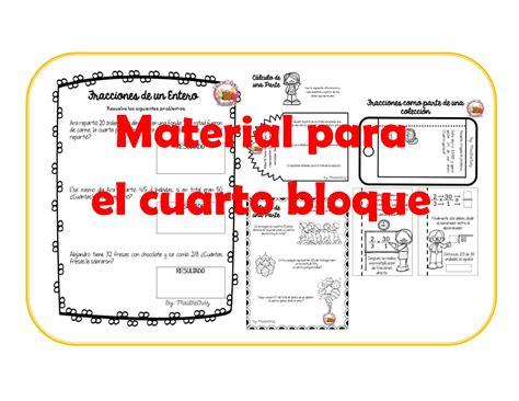 material didctico de apoyo del cuarto grado para el material didactico cuarto bloque cuarto grado