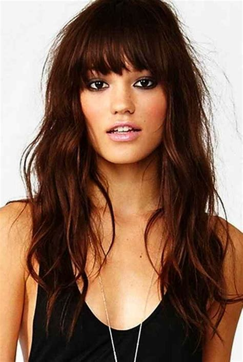 hairstyles for long face with bangs best 25 bangs for oval faces ideas on pinterest