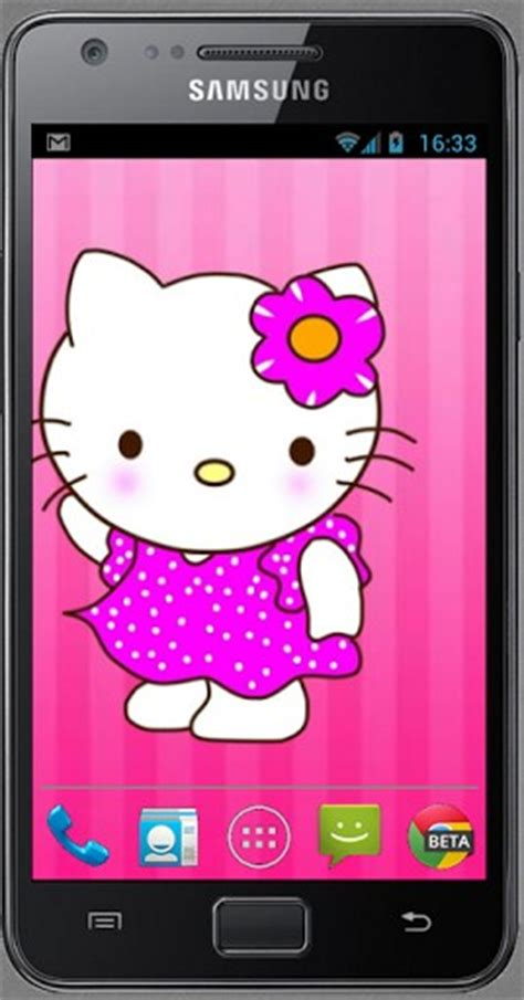 wallpaper hello kitty apps hello kitty live wallpaper app for android