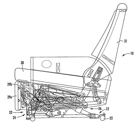 reclining sofa replacement parts patent us7766421 recliner lift with power lift and