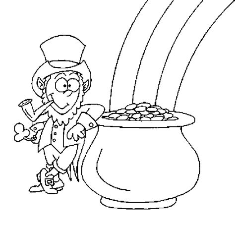 Amazing Coloring Pages Leprechauns Coloring Pages Leprechaun Coloring Page