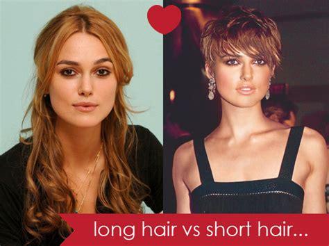 long hair vs short hair long hair vs short hair hair romance