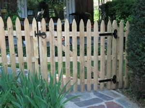 fence gates picket fence gate