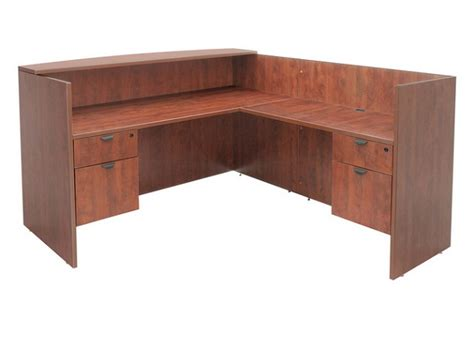 Regency Office Furniture Legacy Reception Desk W 3 4 Legacy Office Furniture