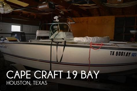 bay boats for sale houston area sold cape craft 19 bay boat in houston tx 094885