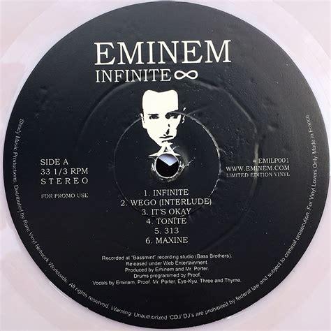 eminem vinyl eminem infinite 12 inch lp vinyl rare records