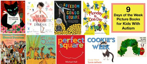 the in the picture book learning the days of the week 9 great picture books