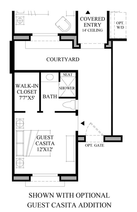 casita floor plans az scottsdale az new homes for sale windgate ranch
