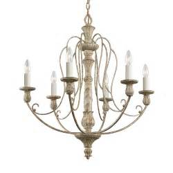 kichler 6 light chandelier kichler lighting 43257daw hayman bay 6 light chandelier
