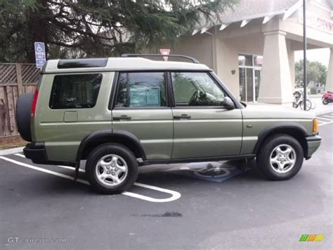 2000 Woodcoat Green Land Rover Discovery Ii 25710235
