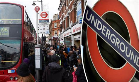london by tube over london tube and train strikes on tuesday and thursday to bring capital to a standstill uk