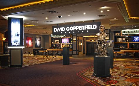 david copperfield theater  mgm grand mgm resorts