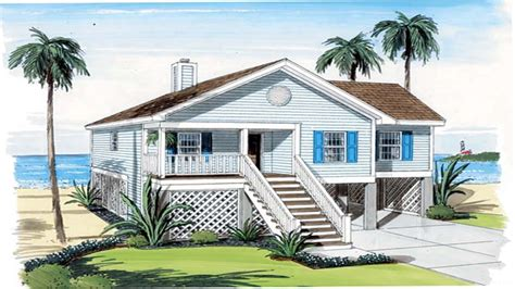 coastal plans beach cottage house plans beach house plans narrow