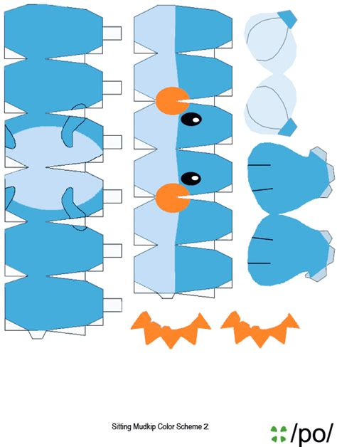 Mudkip Papercraft - mudkip picture image by tag